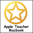 Apple Teacher MacBook Logo